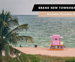 Newly redeveloped townhomes are available for sneak peek tours and ready to lease for Devember move ins., Flamingo Point Center Tower
