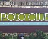 Community Signage, Polo Club Apartments