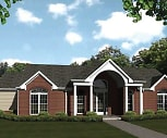 Clubhouse, The Bluffs at Walnut Creek Apartment Homes