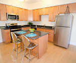 Kitchen, Corner Park Apartments