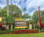 Community Signage, Lakeridge at the Moors
