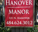 Hanover Manor 331 N. Hanover, Manatawny Farmingon, Pottstown, PA