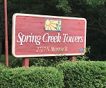 Spring Creek Towers, St Teresa High School, Decatur, IL