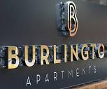 Community Signage, The Burlington Apartments