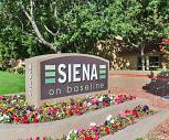 Community Signage, Siena Apartments