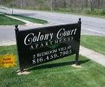 Community Signage, Colony Court