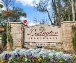 Community Signage, The Lexington Apartments