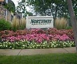 Sign, Northway Apartment Homes