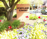 Portland Towers, Art Institute of Portland, OR