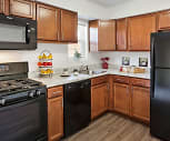 Kitchen, Fox Pointe Apartments