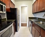Kitchen, Shaker Square Apartments