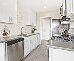 Kitchen, Sepulveda West Apartments