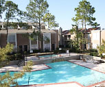 Pool area, Westwood Fountains Apartments