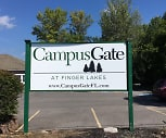 Campus Gate, Finger Lakes Community College, NY