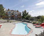 Pool, Silver Cliff Apartments