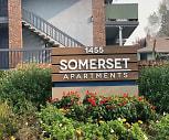 Community Signage, Somerset Apartments