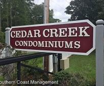 Community Signage, 209 Cedar St
