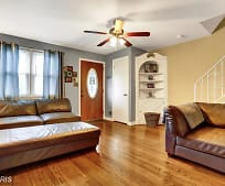 Living Room, 1706 Wickes Ave