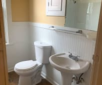 Bathroom, 540 Woodward Ave