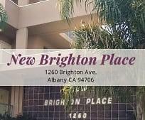 Community Signage, 1260 Brighton Ave