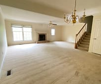 Living Room, 218 Woodcastle Dr