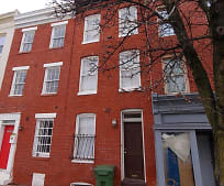 Building, 1231 Hollins St