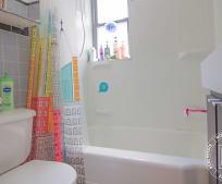 Bathroom, 211 E Broadway