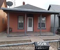 Building, 608 E 10th St