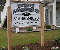 Community Signage, 14 E Bayard St