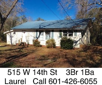 515 W 14th St, Laurel, MS