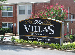 The Villas on Cantrell - Little Rock