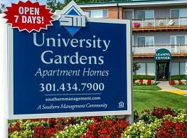 University Gardens - Hyattsville