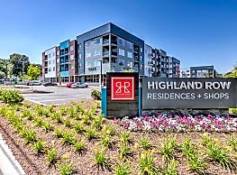 Highland Row - Memphis
