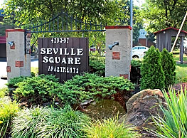 Seville Square - Pittsburgh