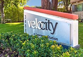 Velocity at Lawrence Station, Santa Clara, CA