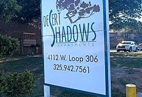 DESERT SHADOWS APARTMENTS, San Angelo, TX