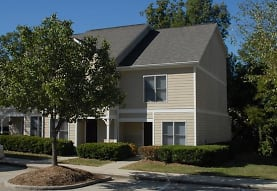 view of front of home with a front lawn, Audubon Lake Apartment Homes