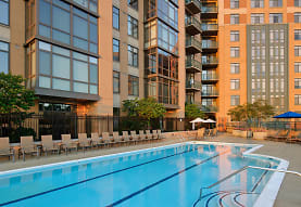 view of swimming pool, Delancey at Shirlington Village
