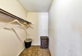 wardrobe featuring carpet, Hilliard Station Apartments