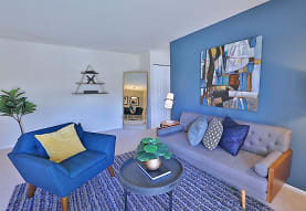view of living room, Mount Vernon Square Apartments