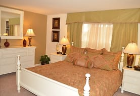 bedroom featuring carpet, Meadows at Bumble Bee Hollow