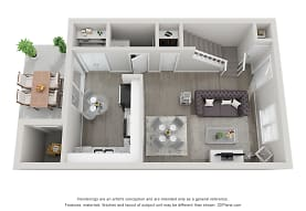 Crown Point Townhomes, Charlotte, NC