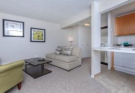 living room with carpet, Autumn Ridge Studio