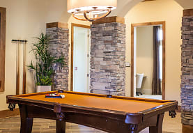 recreation room with hardwood floors, The Reserve
