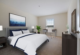 bedroom featuring carpet and natural light, Legacy Park Apartments