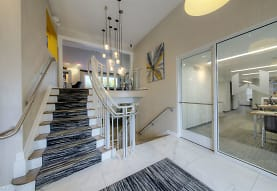 Clubhouse foyer, Woodbury Gardens Apartments and Townhomes