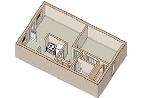 floor plan, Ole London Towne