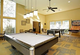 rec room with a wealth of natural light and a ceiling fan, Peppertree Apartments