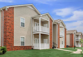 back of house featuring a lawn, Park At Lemoyne Apartments