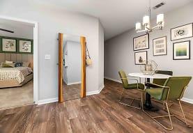 dining area featuring hardwood floors, Walden Pond